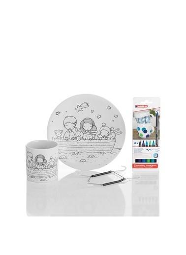Kütahya Porselen Aktivite Seti 10804 Renkli